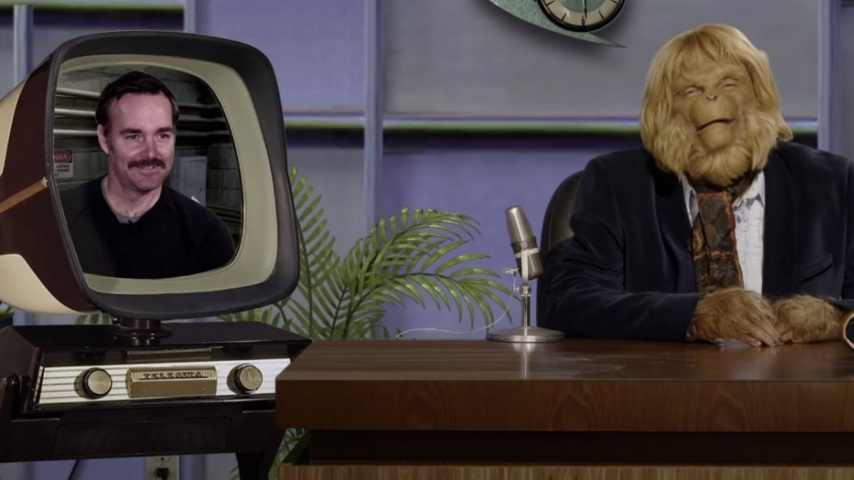 Dr. Zaius Hosts a Talk Show Now. Watch Will Forte on <i>Hanging with Dr. Z</i>.