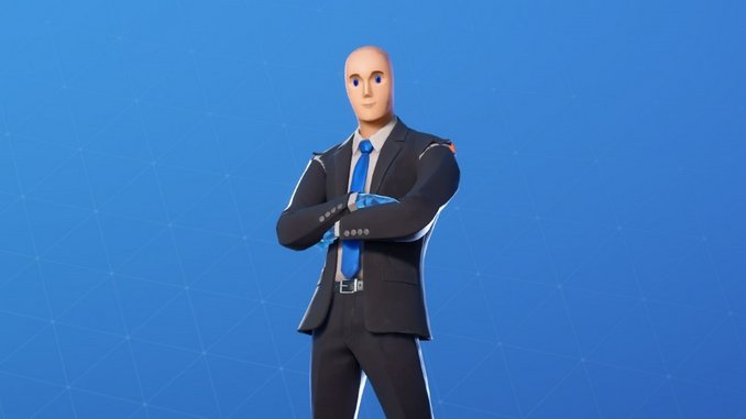 Yes, the Guy from the Stonks Meme Is Now in <i>Fortnite</i>