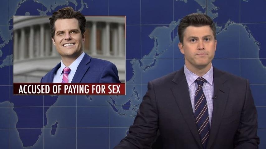 <i>Saturday Night Live</i> Takes on GOP Congressman Matt Gaetz and All the Allegations Against Him