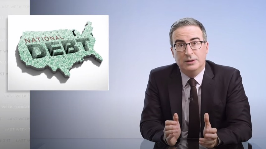John Oliver Looks at Republican Hypocrisy over the National Debt