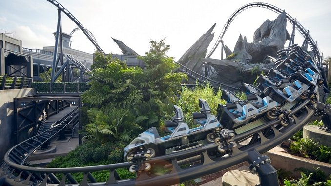 Universal Orlando's Newest Roller Coaster, The Jurassic World VelociCoaster, Opens in June