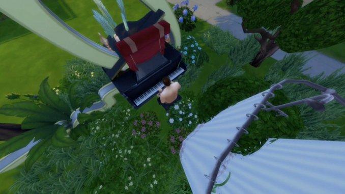 "Exclusive: Ben Seretan Shares ""Rain & Cicadas"" Video, Animated Using <i>The Sims</i>"
