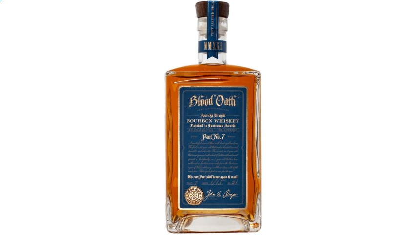 Blood Oath Bourbon Pact No. 7 Review