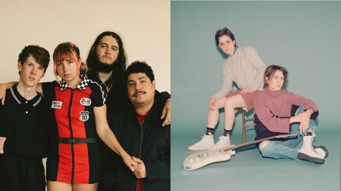 "Beach Bunny & Tegan and Sara Team up for Lovely ""Cloud 9"" Rework"