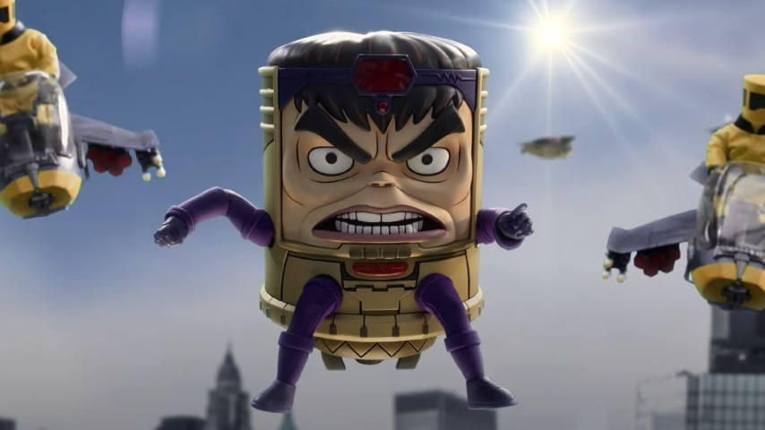 Patton Oswalt Is <i>Marvel's M.O.D.O.K.</i> In the Trailer for Hulu's Upcoming Comedy