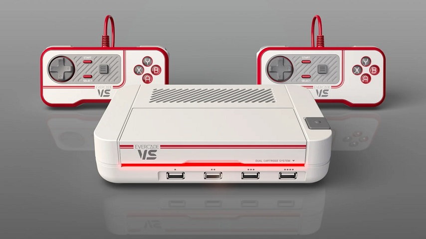 The Evercade VS Retro Gaming Console Is Coming This Fall
