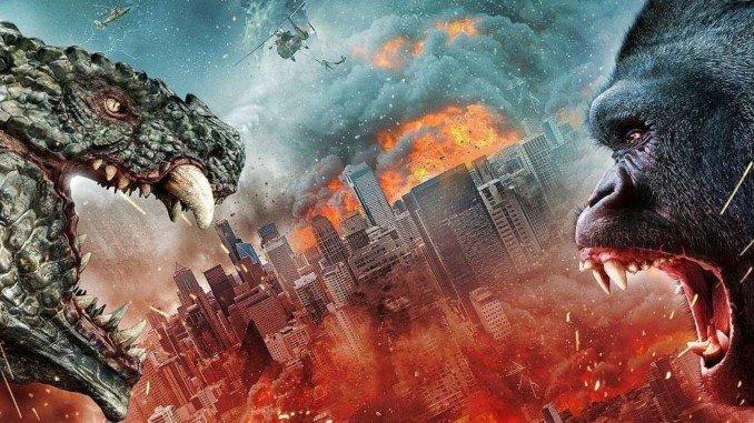 Chuckle at the Ludicrous Trailer for Asylum <i>Godzilla vs. Kong</i> Mockbuster <i>Ape vs. Monster</i>