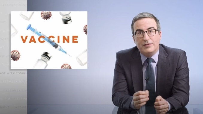 John Oliver Tackles Vaccine Hesitancy and How to Combat It