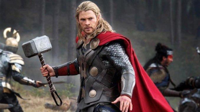 Chris Hemsworth Brings the Hammer Down