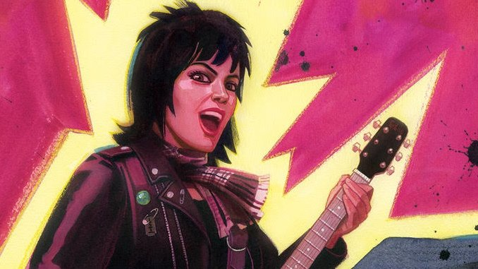 Joan Jett and Z2 Comics Create Graphic Anthology for <i>Bad Reputation</i> & <i>I Love Rock 'N' Roll</i> Anniversary
