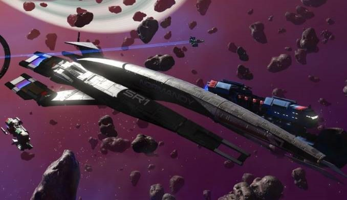 <i>Mass Effect</i>'s Normandy Spaceship Is Coming to <i>No Man's Sky</i>