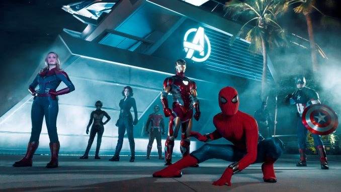Watch the Opening Ceremony of Disney's Avengers Campus Theme Park Land