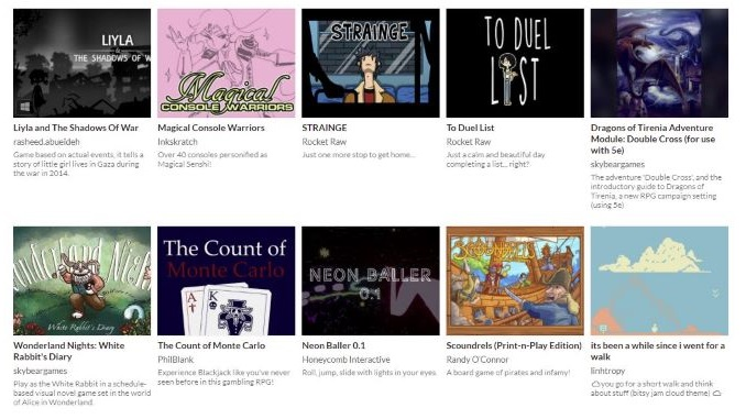 Itch.io's Indie Bundle for Palestinian Aid Includes over 1000 Games for $5