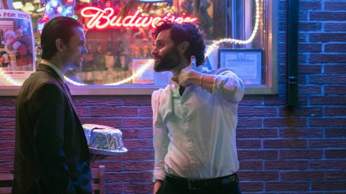 Penn Badgley and Shiloh Fernandez Star in Our Exclusive Clip of Mob Movie <i>The Birthday Cake</i>