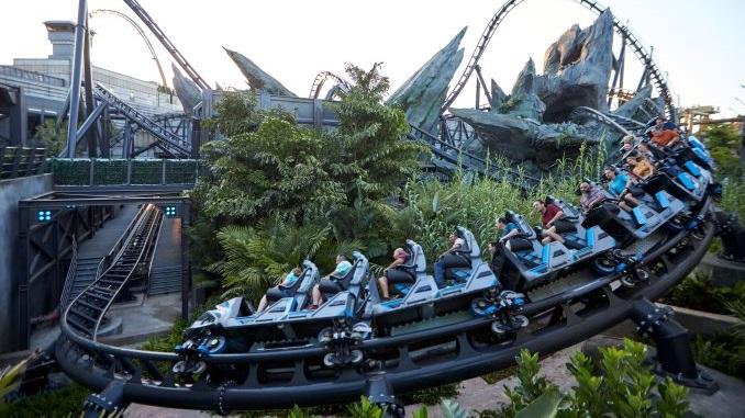 The VelociCoaster Is Universal Orlando's Fiercest Roller Coaster Yet