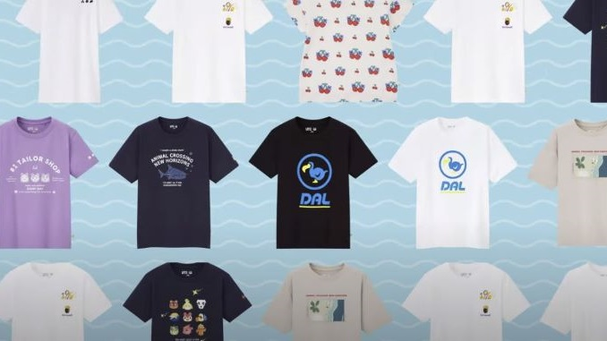 UNIQLO UT's Collaboration with <i>Animal Crossing: New Horizons</i> Is Almost Here