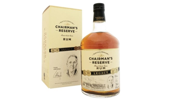 Chairman's Reserve Legacy Rum Review