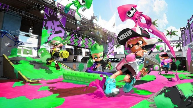 <i>Splatoon 2</i>'s Online Lounge Will Be Discontinued Next Month