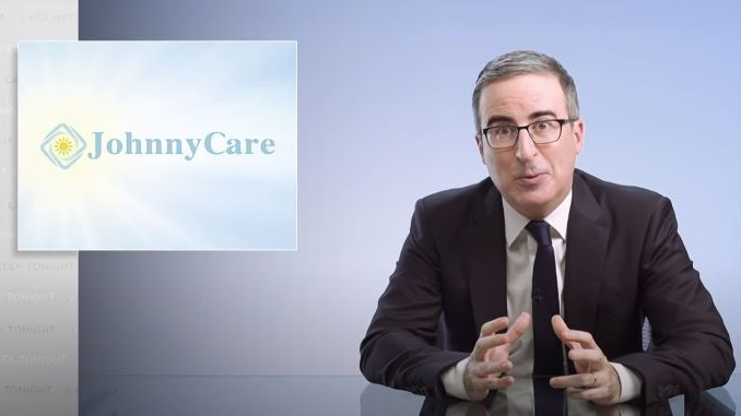 John Oliver Revives His Church to Launch a Fake Health Care Plan in Florida