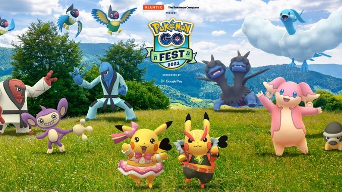 Pokémon GO Fest 2021 to be Held in 20+ Cities this Month