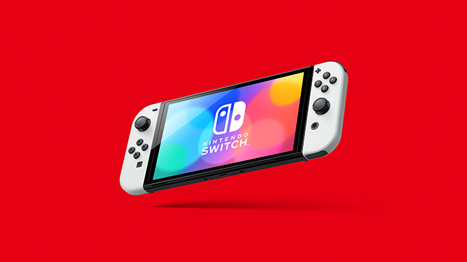 Nintendo Switch OLED Model to be Released This Fall