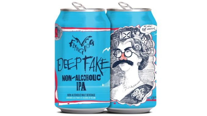 Flying Dog Deepfake Non-Alcoholic IPA Review