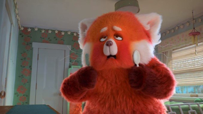 Check Out the Fuzzy First Teaser for Pixar's <i>Turning Red</i>