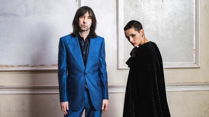 Bobby Gillespie and Jehnny Beth Rise Together from <i>Utopian Ashes</i>