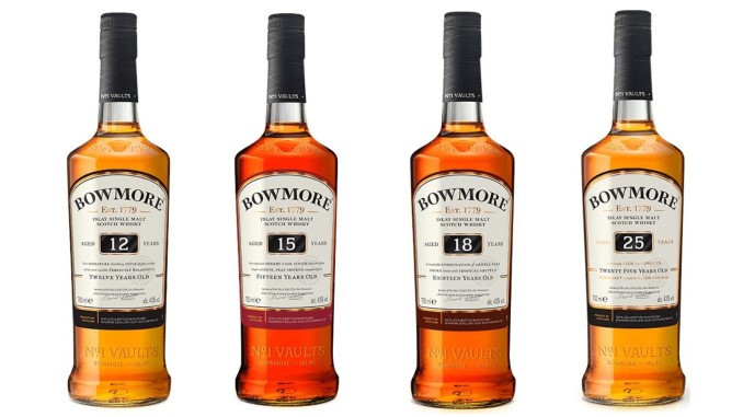 Tasting: 4 Classic Bowmore Single Malt Scotch Whiskies