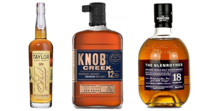 Whiskeys Revisited #1: E.H. Taylor, Glenrothes, Knob Creek and More