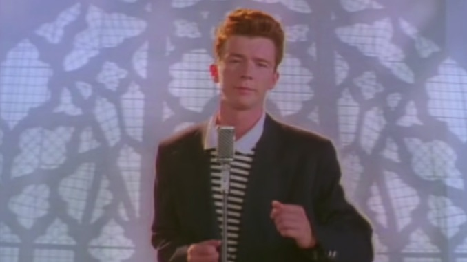 """Rick Astley's """"Never Gonna Give You Up"""" Video Hits 1 Billion YouTube Views"""