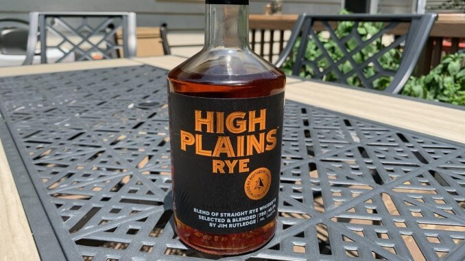 High Plains Rye Whiskey Review