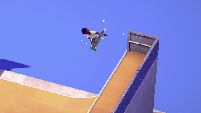 Streamlined Skating Game <i>The Ramp</i> Makes Me Want to See More Minimalist Sports Games