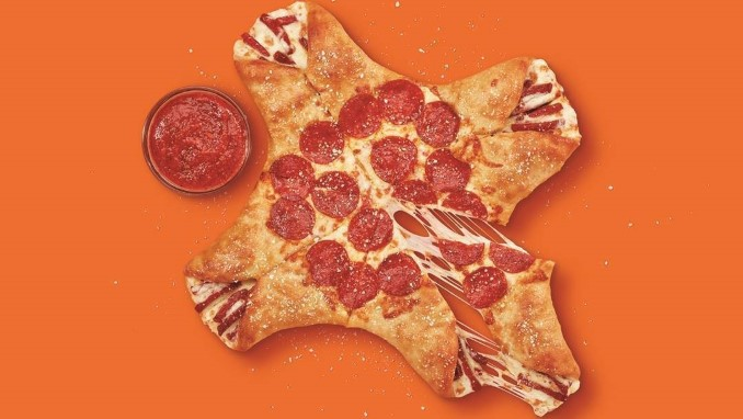 """Little Caesar's New """"Crazy Calzony"""" Looks like the Result of a Pizza Lab Accident"""