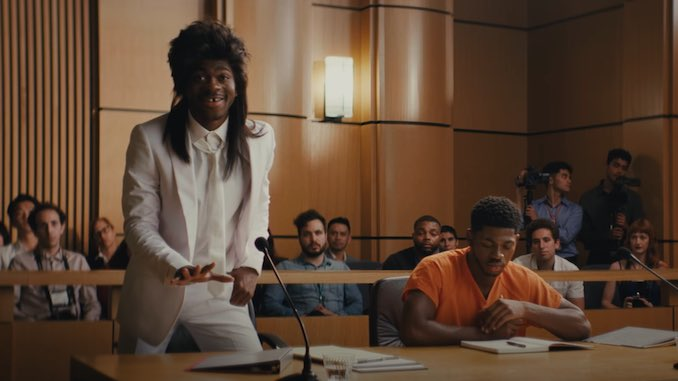 Lil Nas X Takes the Stand in Surprise Promo for New Single