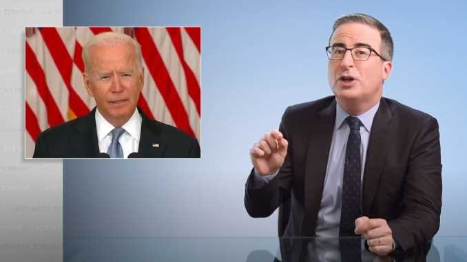 John Oliver Looks at America's Catastrophic Withdrawal from Afghanistan