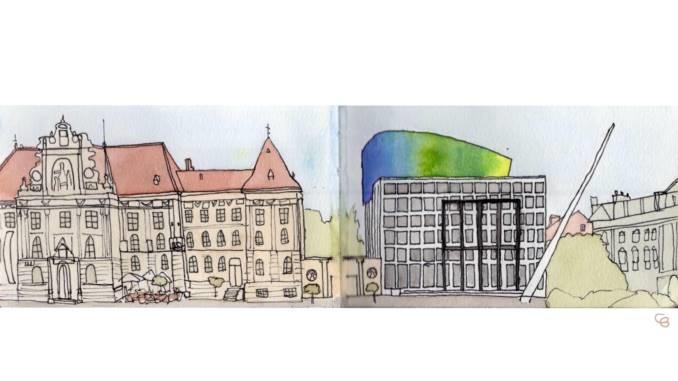 Travel Sketches: Zagreb, Croatia