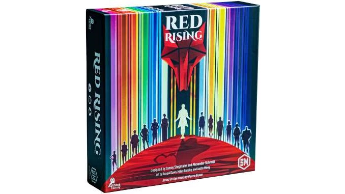 Change the Paradigm with the New <i>Red Rising</i> Board Game