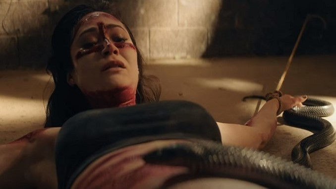 Exclusive: Demonic Serpents Slither in This Clip from Netflix Horror Film <i>The Old Ways</i>