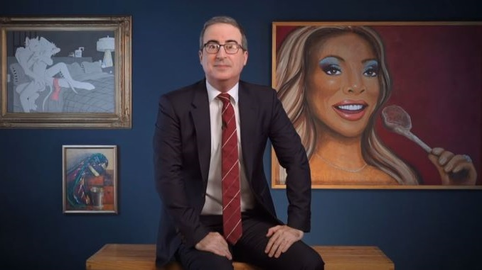 John Oliver's Weird Art Collection Is Going on a Museum Tour