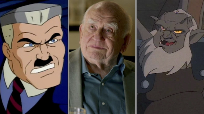 For a Generation, Ed Asner's Legacy Was the Crotchety King of Cartoon Voiceover