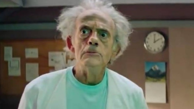 Christopher Lloyd Plays Rick Sanchez in This Live Action <i>Rick and Morty</i> Promo