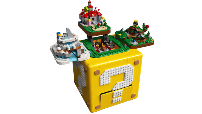 LEGO Pays Tribute to <i>Super Mario 64</i> with an Elaborate New Question Block Set