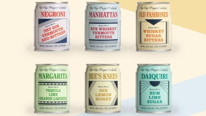 Tasting: 6 Canned Cocktails From Atlanta's Tip Top Proper Cocktails