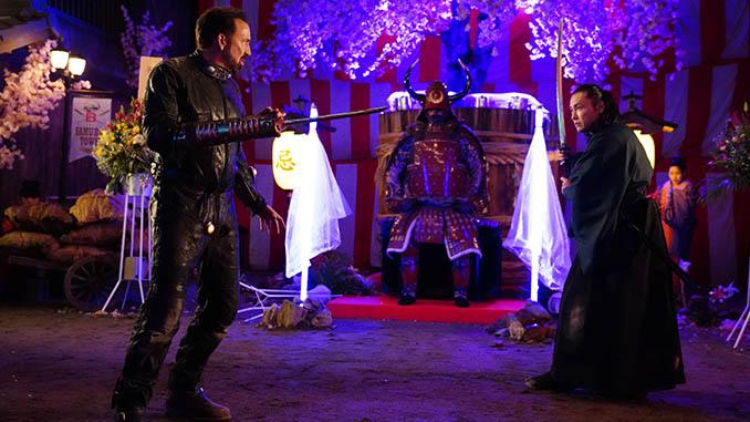 Nicolas Cage Attempts to Escape Nicolas Cage in Sion Sono&#8217;s <i>Prisoners of the Ghostland</i>