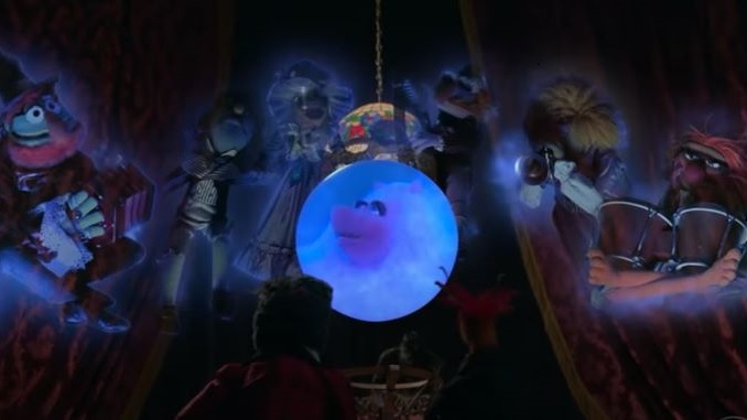 The Muppets Haunt a Beloved Disney Ride in the Trailer for <i>Muppets Haunted Mansion</i>