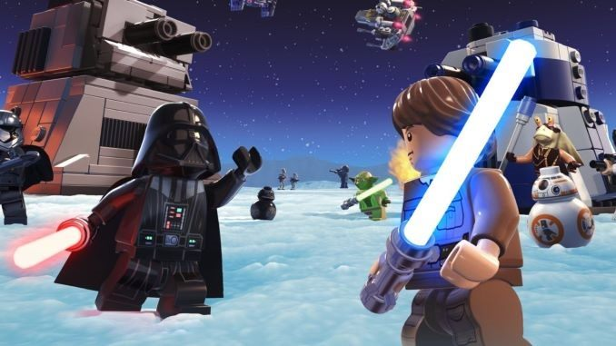 <i>LEGO Star Wars Battles</i> Brings a Galaxy of Multiplayer Action to Apple Arcade