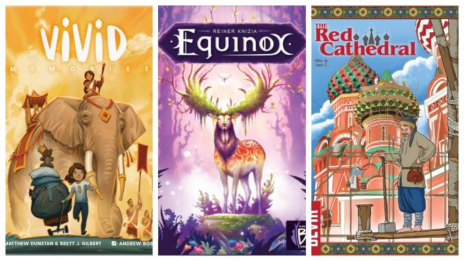 Gen Con 2021: Everything We Played at This Year's Board Game Convention