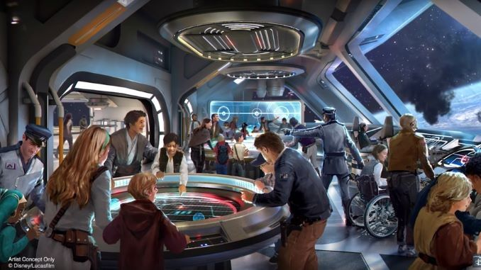 Disney's Star Wars: Galactic Starcruiser Gets an Opening Date; Reservations Open Next Month