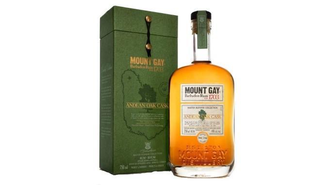Mount Gay Rum Master Blender Collection: Andean Oak Cask Review